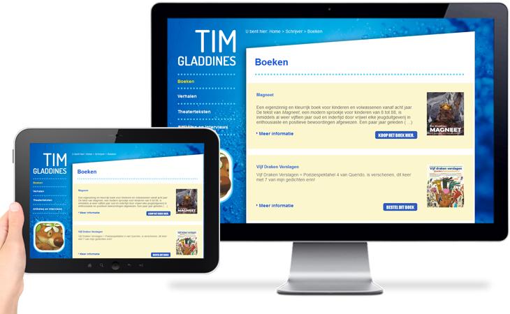 Tim Gladdines > Boeken
