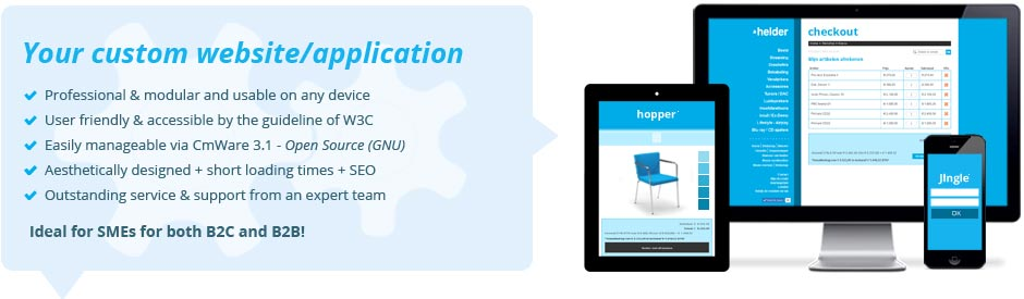 We'll build your successfull (web) application